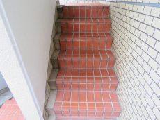小石川ハイツ 共用階段