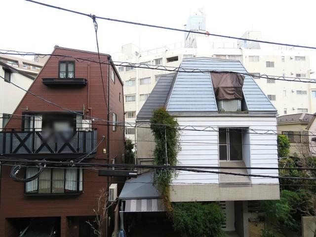 四谷軒第5経堂シティコーポ 北側バルコニー眺望