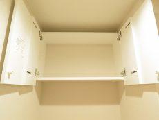 キャッスル共進マンション トイレ吊戸棚