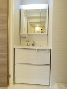 朝日プラザ北新宿 洗面化粧台