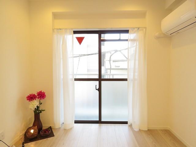 朝日プラザ北新宿 窓