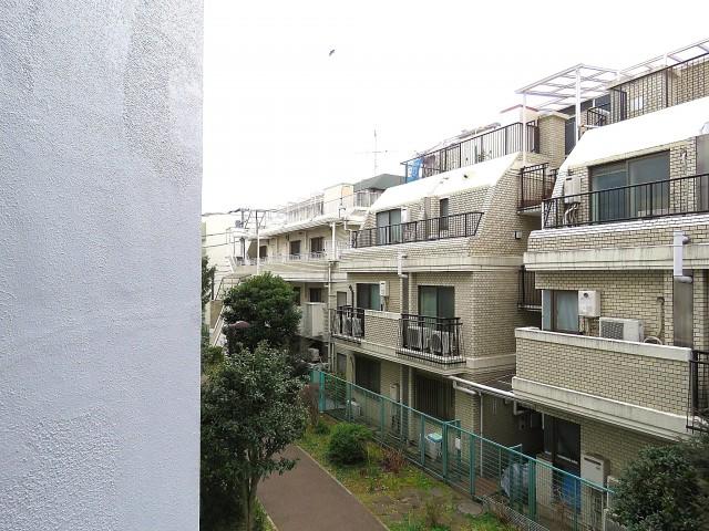 四谷軒第5経堂シティコーポ 南西側眺望