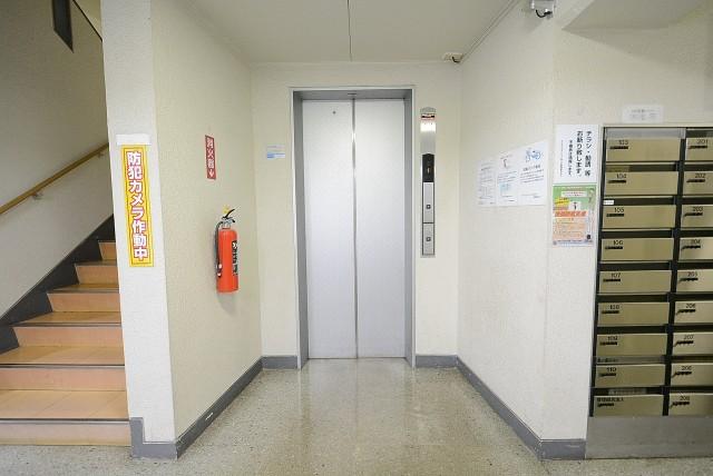 ライオンズマンション桜上水 エントランス
