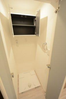 御苑フラワーマンション 洗濯機スペース