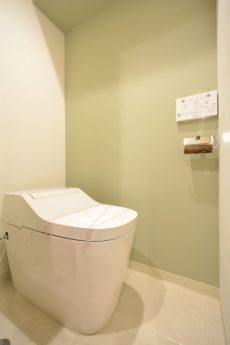 グリーンキャピタル広尾 トイレ