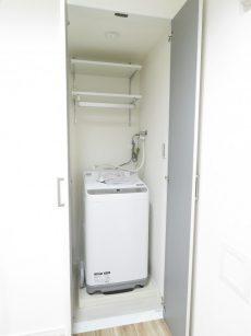 セブンスターマンション西五反田 洗濯機置場
