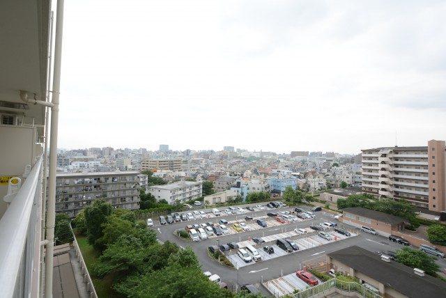 多摩川芙蓉ハイツ3号棟 バルコニー