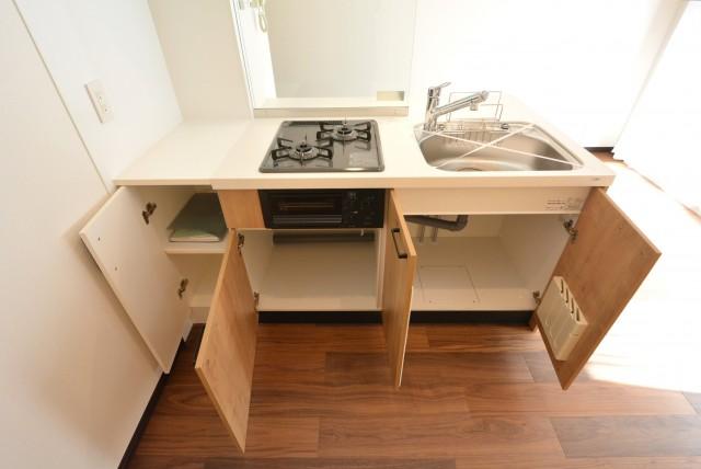 グリーンキャピタル広尾 キッチン