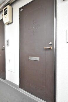 朝日プラザ北新宿 玄関