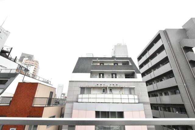 朝日プラザ北新宿 バルコニー