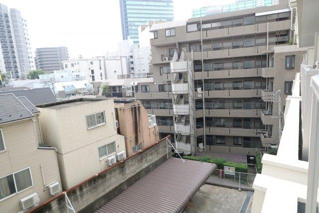 松見武蔵野マンション バルコニー