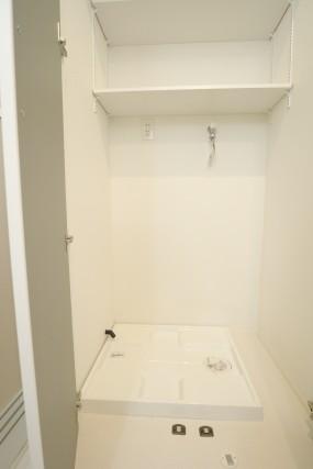 松見武蔵野マンション 洗濯機スペース