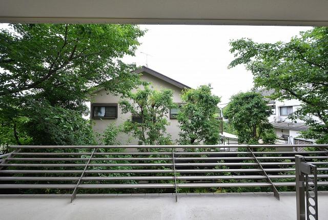 井の頭公園パークハウス吉祥寺南町 バルコニー