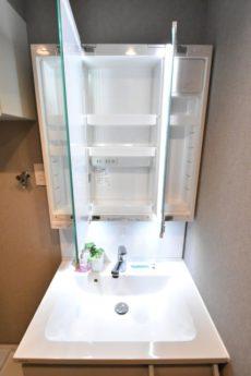 豊栄新都心マンション 洗面室