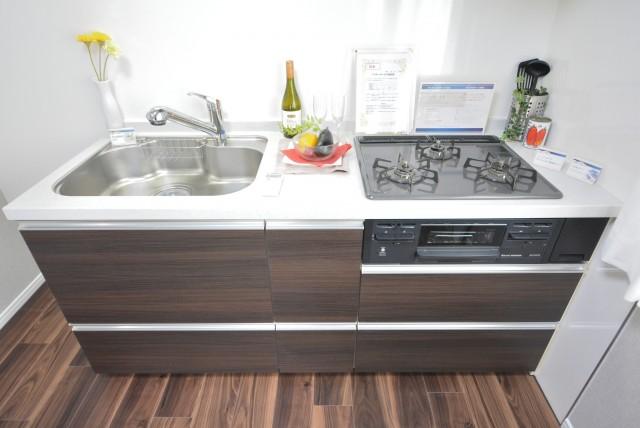 朝日目白台マンション キッチン