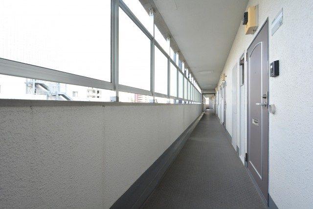東中野ハイム 外廊下