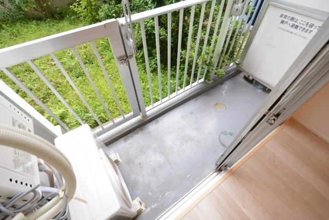 パイロットハウス北新宿 バルコニー・専用庭