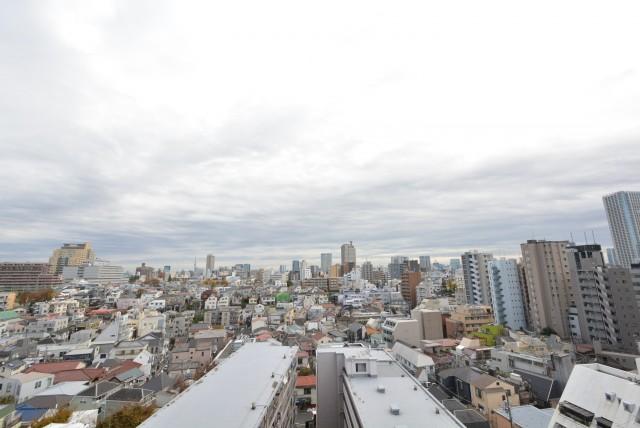 グリーンヒル新宿 バルコニー