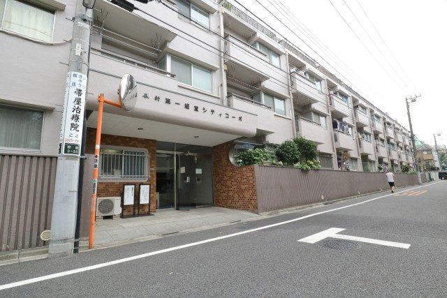 四谷軒第1経堂シティコーポ 入口周辺
