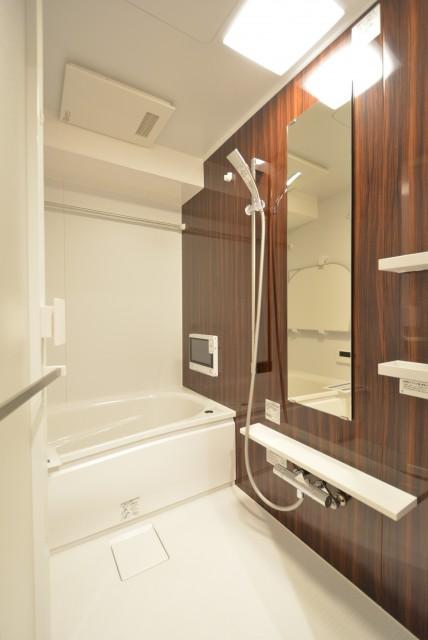 マンション小石川台 浴室