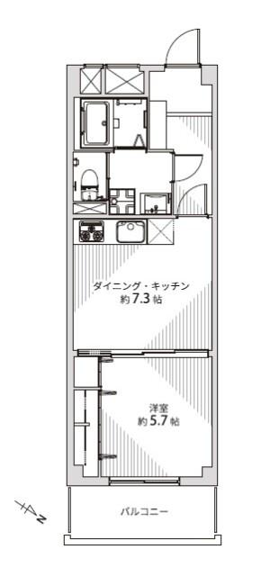 松濤ハウス 間取り図