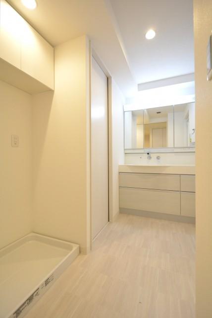 クレッセント渋谷神泉 洗面室