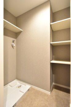 秀和第2高輪レジデンス 洗濯機スペース