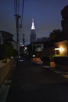 ベルデ参宮橋Ⅱ 周辺 夜
