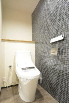 都立大コーポラス 洗面室
