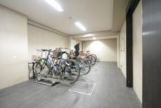 THEパームス渋谷常盤松 駐輪場