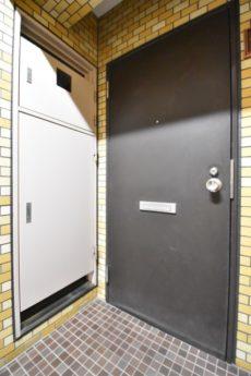 マンション小石川台 玄関