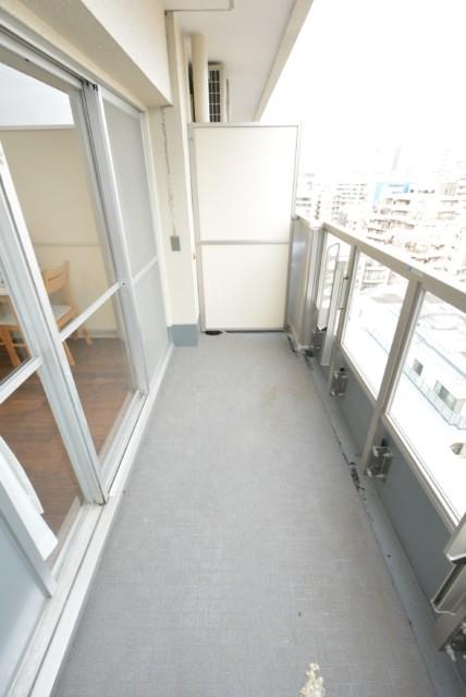 松見坂武蔵野マンション バルコニー