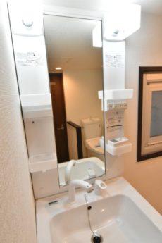 秀和築地レジデンス 洗面室