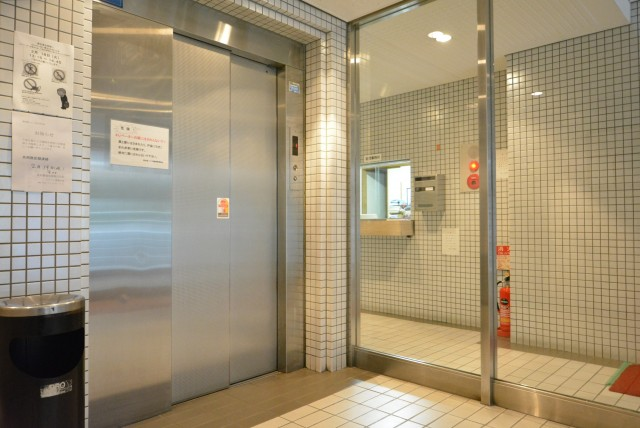 東池袋ハイツ壱番館 エレベーター