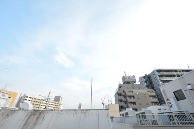 西蒲田スカイハイツ バルコニー