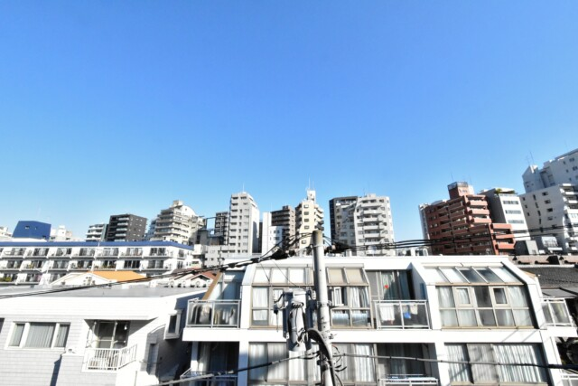川口アパートメント 眺望