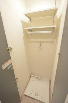 初台中央マンション 洗濯機スペース
