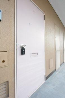 西蒲田スカイハイツ 玄関