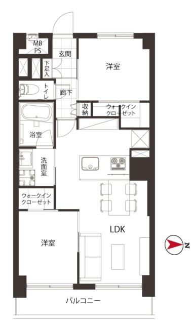 蒲田公園マンション 7階