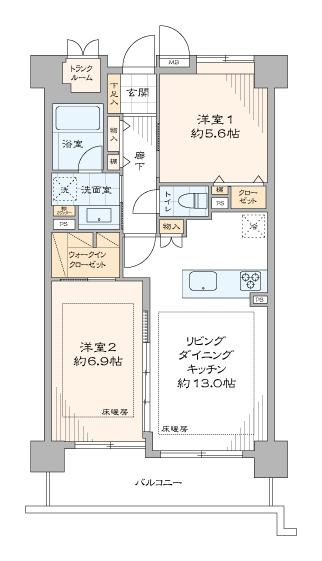 シティハイツ麻布十番 204号室 (16)
