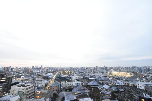 クレべール西新宿 バルコニー