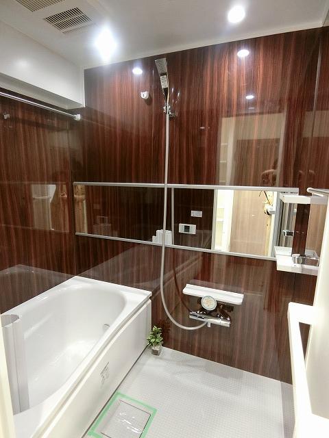 南青山サマリヤマンション浴室