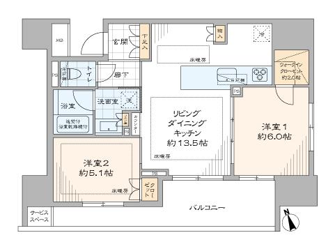 ザ・パークハウスアーバンス御成門 (19)