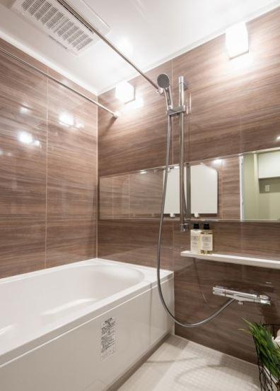 ライオンズマンション箱崎 浴室