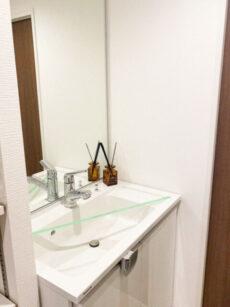 山王スカイマンション 洗面室