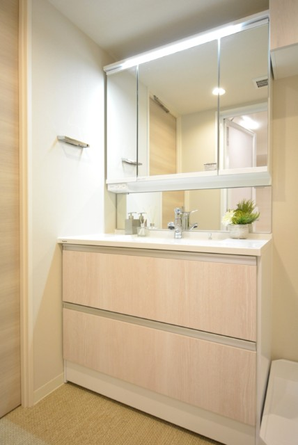 三田ナショナルコート 洗面室