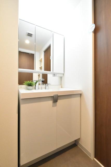 中央マンション 洗面室