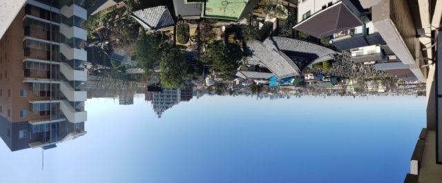 プレジデント桜上水 眺望