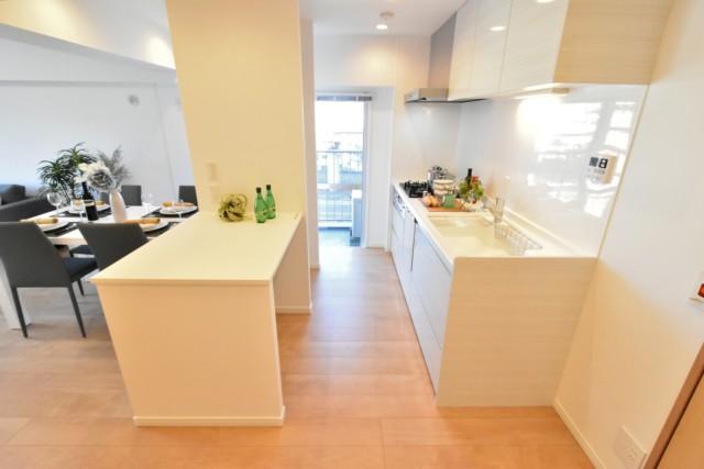 飯田橋第一パークファミリア キッチン
