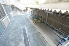 グランヴェール恵比寿 自転車置き場